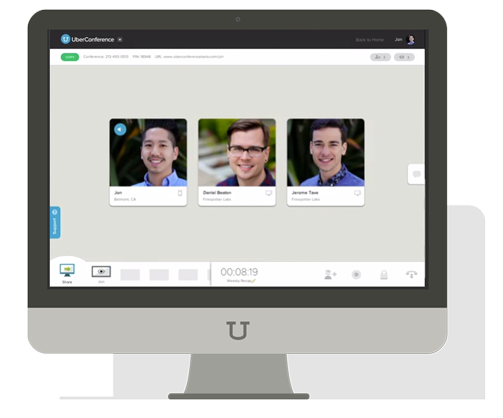 UberConference Visual Conferencing System | Cloudbakers