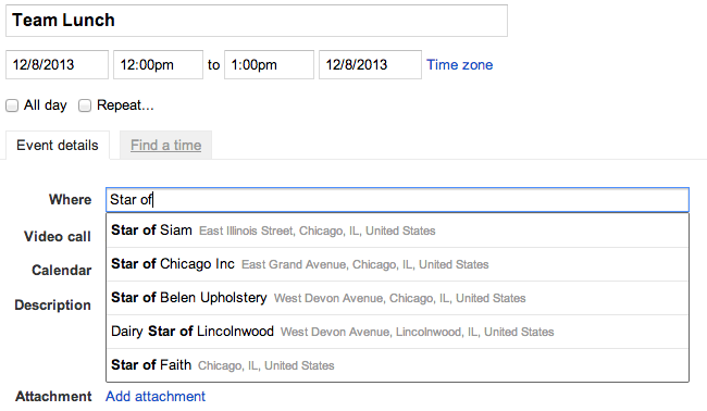 Google Calendar in Google Apps for Business