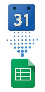 How to export your Google Calendar into a Spreadsheet