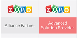 Zoho Alliance Partner & Advanced Solution Provider