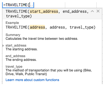 Calculating Travel Time from Home to Work | Cloudbakers