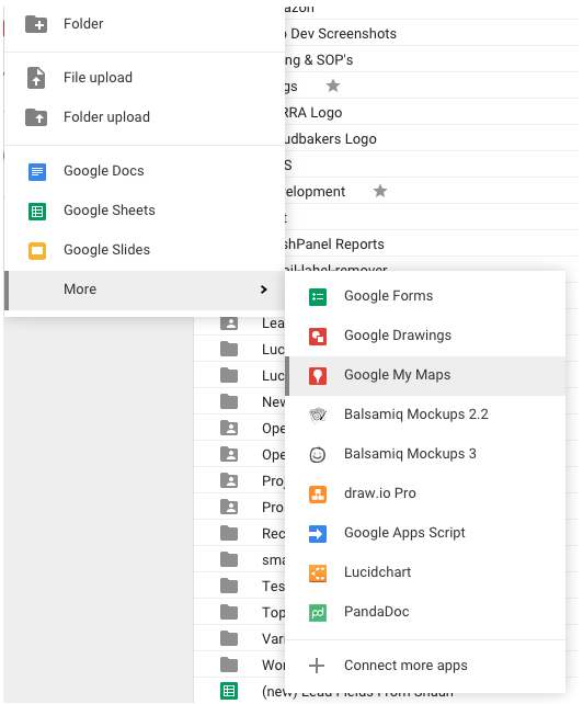 how to select all on google drive