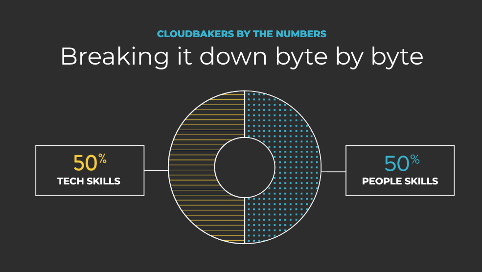 Cloudbakers by the numbers