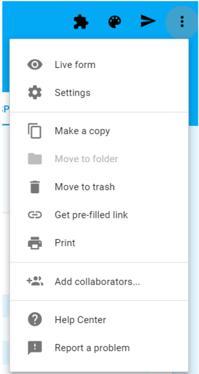 Google Form Collaboration