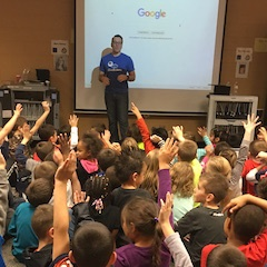 Hour of Code at Southbury Elementary School