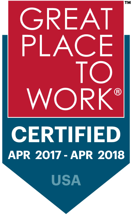 Great Place to Work 2017-2018 | Cloudbakers