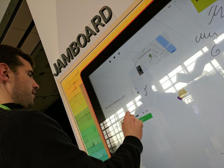 Jamboard at Work | The Google Next Experience