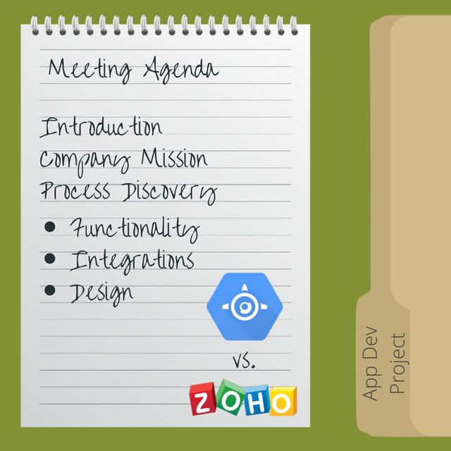 Meeting Agenda for Initial App Development Meeting