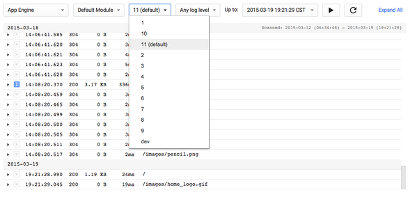 Application Versioning with Google