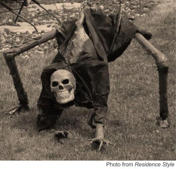 Spooky Skeleton & Technology Scares