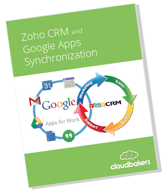 Zoho and Google Apps Sync eBook | Cloudbakers