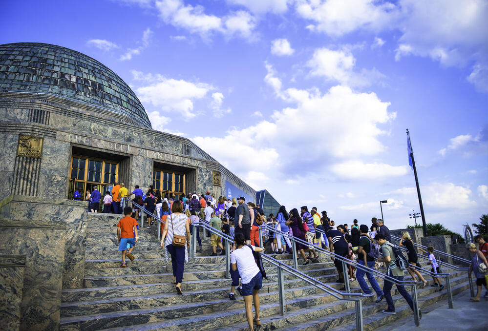 Adler Planetarium | America's first planetarium now on G Suite