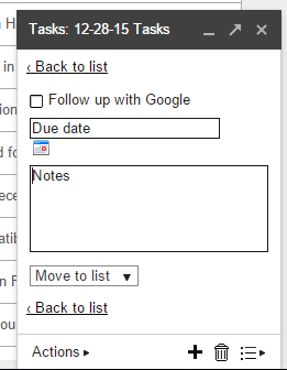 Adding Notes to Tasks in Google | Cloudbakers
