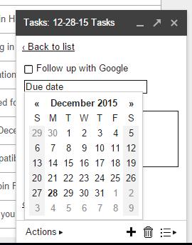 Edit Details of a Google Task | Cloudbakers