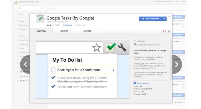 Google Tasks Chrome Extension | Cloudbakers