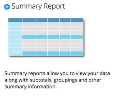 Zoho CRM Summary Report
