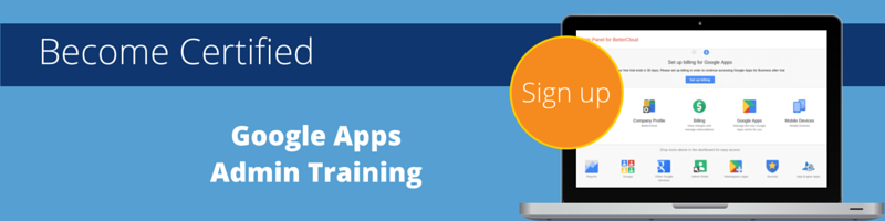 Google Apps Admin Training with Cloudbakers