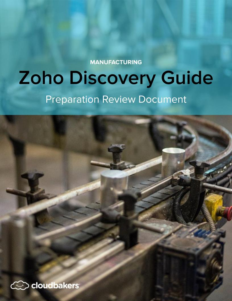 How to prepare for a Zoho Implementation